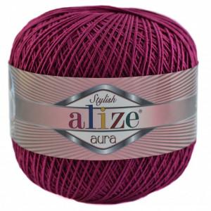 Fir de tricotat sau crosetat - Fire Alize Aura - Fucsia - 48
