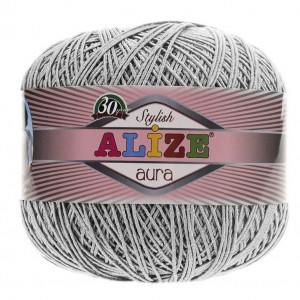 Fir de tricotat sau crosetat - Fire Alize Aura - Gri - 52