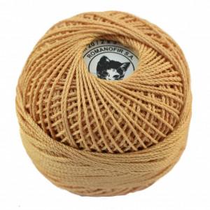 Fir de tricotat sau crosetat - Fire Bumbac 100% ANGELICA ROMANOFIR BOBINA BEJ 1319
