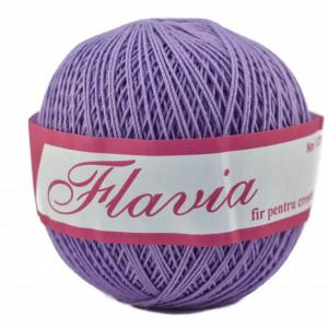 Fir de tricotat sau crosetat - Fire Bumbac 100% FLAVIA ROMANOFIR BOBINA MOV 1224