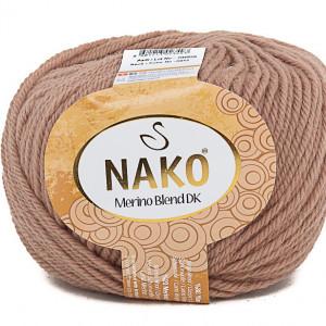 Fir de tricotat sau crosetat - Fire din lana 100% Nako Merino Blend DK - BEJ COD 6942