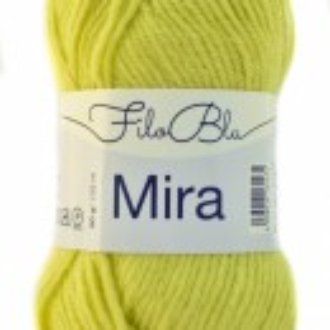 Fir de tricotat sau crosetat - Fire Filo Blu - MIRA - 1 - GALBEN VERDE