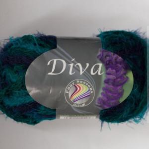 Fir de tricotat sau crosetat - Fire pretricotat esarfa GRUNDL DIVA DEGRADE 07