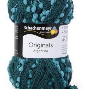 Fir de tricotat sau crosetat - Fire pretricotate esarfa Argentina A86