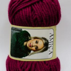 Fir de tricotat sau crosetat - Fire tip mohair din acril AMICA GRENA - 315
