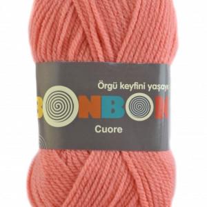 Fir de tricotat sau crosetat - Fire tip mohair din acril BONBON CUORE - FREZ - 98649