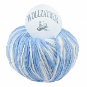 Fir de tricotat sau crosetat - Fire tip mohair din acril CANGURO - Wollzauber - DEGRADE 2