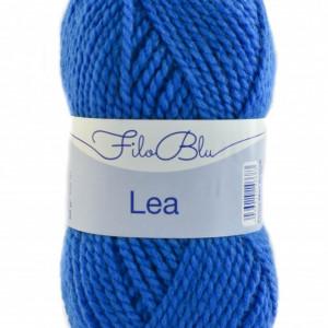 Fir de tricotat sau crosetat -Fire tip mohair din acril GRUNDL - LEA - 05-ALBASTRU