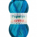 Fir de tricotat sau crosetat - Fire tip mohair din acril Kamgarn Papatya Joyful degrade 03