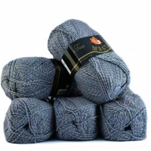 Fir de tricotat sau crosetat - Fire tip mohair din acril Nako Export - #7226 - DEGRADE