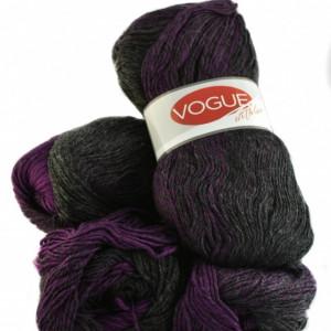 Fir de tricotat sau crosetat - Fire tip mohair din acril Nako Export - #7868-DEGRADE