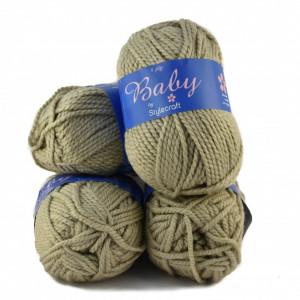 Fir de tricotat sau crosetat - Fire tip mohair din acril Nako Export - #8043-CREAM