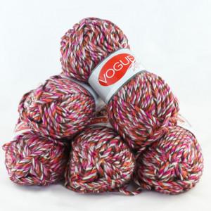 Fir de tricotat sau crosetat - Fire tip mohair din acril Nako Export - #5450