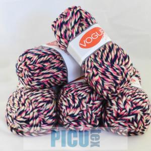 Fir de tricotat sau crosetat - Fire tip mohair din acril Nako Export - #5509