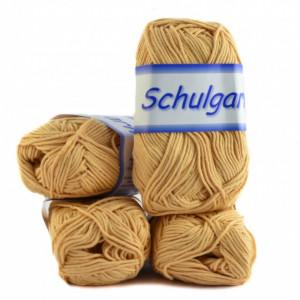 Fir de tricotat sau crosetat - Fire tip mohair din acril Schulgarn - PORTOCALIU - 17 -