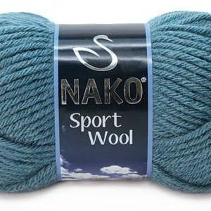 Fir de tricotat sau crosetat - Fire tip mohair din acril si lana Nako Sport Wool Bleo 185