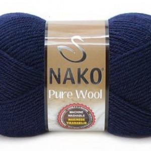 Fir de tricotat sau crosetat - Fire tip mohair din lana 100% Nako PURE WOOL BLEOMAREN 2418