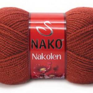 Fir de tricotat sau crosetat - Fire tip mohair din lana 50% si acril 50% Nakolen MARO 4409