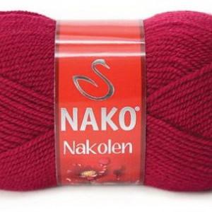 Fir de tricotat sau crosetat - Fire tip mohair din lana 50% si acril 50% Nakolen GRENA 3630