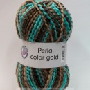 Fir de tricotat sau crosetat - PERLA COLOR GOLD by GRUNDL DEGRADE 88