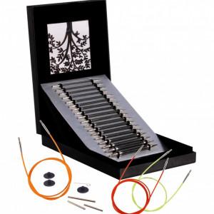 KnitPro Karbonz  - set andrele interschimbabile