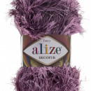 Fir de tricotat sau crosetat - FANCY - ALIZE DECOFUR MOV 1361
