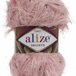 Fir de tricotat sau crosetat - FANCY - ALIZE DECOFUR PUDRA 161