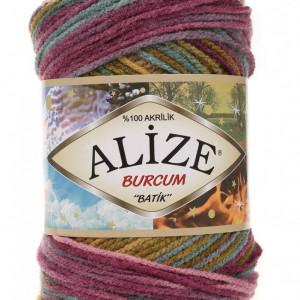 Fir de tricotat sau crosetat - Fir ACRILIC ALIZE BURCUM BATIK DEGRADE 4341