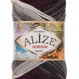 Fir de tricotat sau crosetat - Fir ACRILIC ALIZE BURCUM BATIK DEGRADE 4202