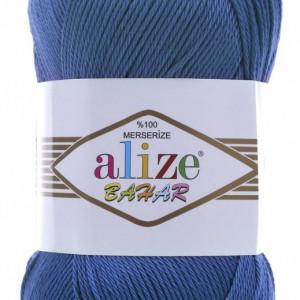 Fir de tricotat sau crosetat - Fir BUMBAC 100% ALIZE BAHAR ALBASTRU 94