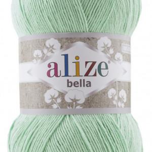 Fir de tricotat sau crosetat - Fir BUMBAC 100% ALIZE BELLA 100 - VERNIL 266
