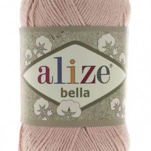 Fir de tricotat sau crosetat - Fir BUMBAC 100% ALIZE BELLA - CREAM 613