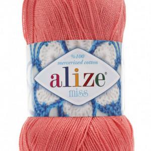 Fir de tricotat sau crosetat - Fir BUMBAC 100% ALIZE MISS FREZ 619