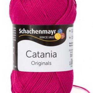 Fir de tricotat sau crosetat - Fir BUMBAC 100% MERCERIZAT CATANIA GRANAT 413