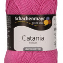 Fir de tricotat sau crosetat - Fir BUMBAC 100% MERCERIZAT CATANIA HOT PINK COD 287