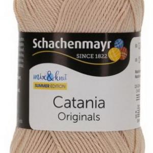 Fir de tricotat sau crosetat - Fir BUMBAC 100% MERCERIZAT CATANIA IVORY 436