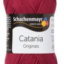 Fir de tricotat sau crosetat - Fir BUMBAC 100% MERCERIZAT CATANIA BORDEAUX 425