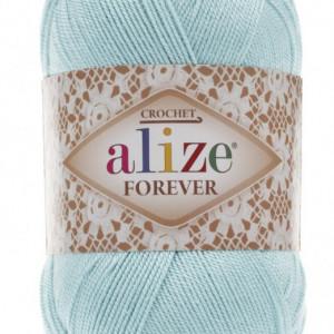 Fir de tricotat sau crosetat - Fir microfibra ALIZE FOREVER BLEO 501