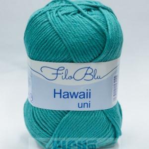 Fir de tricotat sau crosetat - Fire amestec Bumbac 100% GRUNDL HAWAII UNI - TURQUAZ - 09
