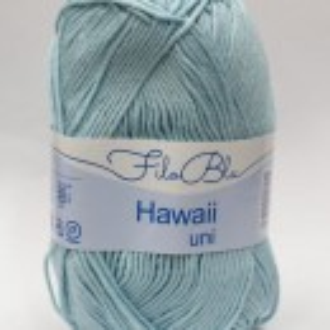 Fir de tricotat sau crosetat - Fire amestec Bumbac 100% GRUNDL HAWAII UNI - BLEO - 03