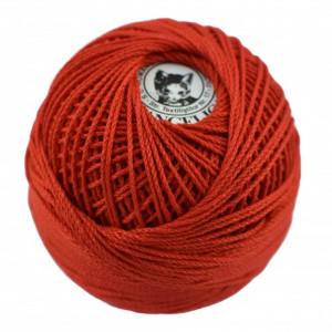 Fir de tricotat sau crosetat - Fire Bumbac 100% ANGELICA ROMANOFIR BOBINA ROSU 1332