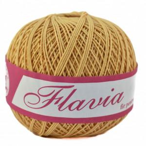 Fir de tricotat sau crosetat - Fire Bumbac 100% FLAVIA ROMANOFIR BOBINA BEJ 1319