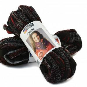 Fir de tricotat sau crosetat - Fire pretricotat esarfa COATS - IGUANA- DEGRADE 83