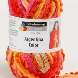 Fir de tricotat sau crosetat - Fire pretricotate esarfa Argentina Color degrade AC82