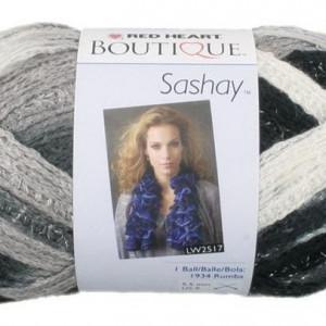 Fir de tricotat sau crosetat - Fire pretricotate esarfa SASHAY degrade S1936