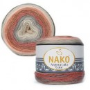 Fir de tricotat sau crosetat - Fire tip mohair acril NAKO ANGORA LUKS COLOR 81913