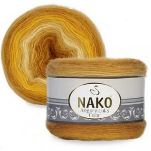 Fir de tricotat sau crosetat - Fire tip mohair acril NAKO ANGORA LUKS COLOR 82363