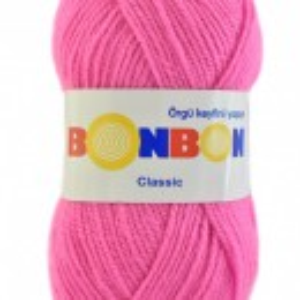 Fir de tricotat sau crosetat - Fire tip mohair din acril BONBON CLASIC 98240