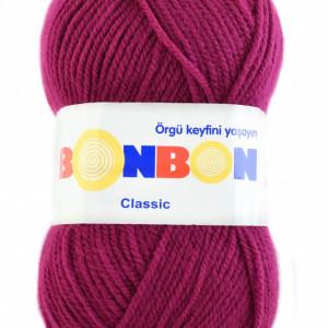 Fir de tricotat sau crosetat - Fire tip mohair din acril BONBON CLASIC 98403