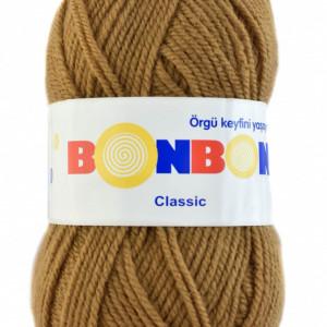 Fir de tricotat sau crosetat - Fire tip mohair din acril BONBON CLASIC MARO 98226
